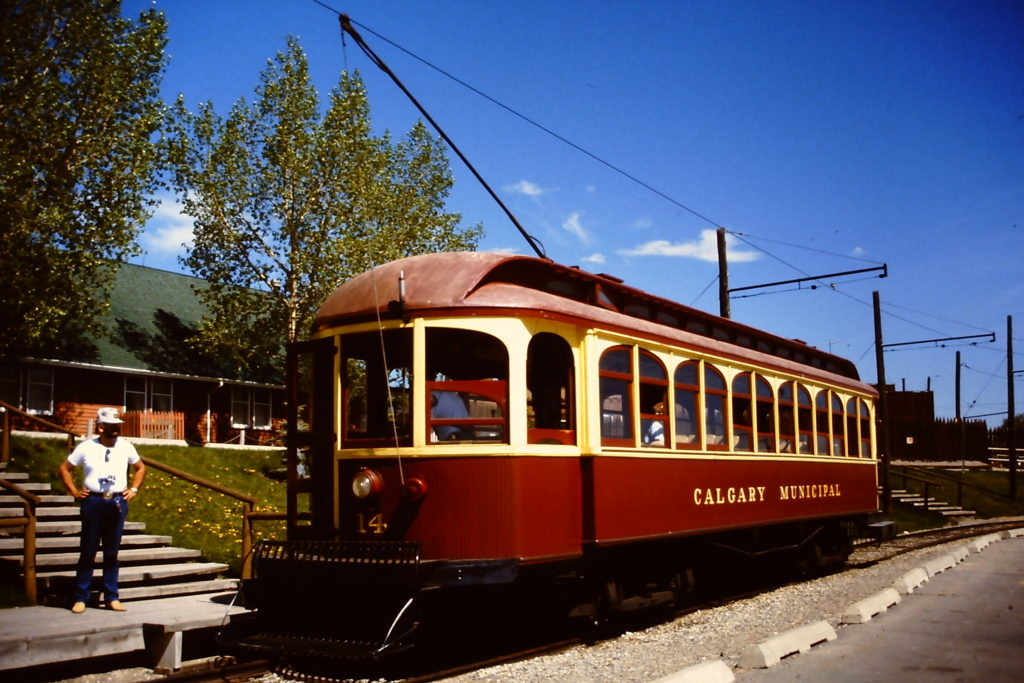 Streetcar at Heritage Park [By Manfred Kopka - Own work, CC BY-SA 4.0, https://commons.wikimedia.org/w/index.php?curid=44228468]
